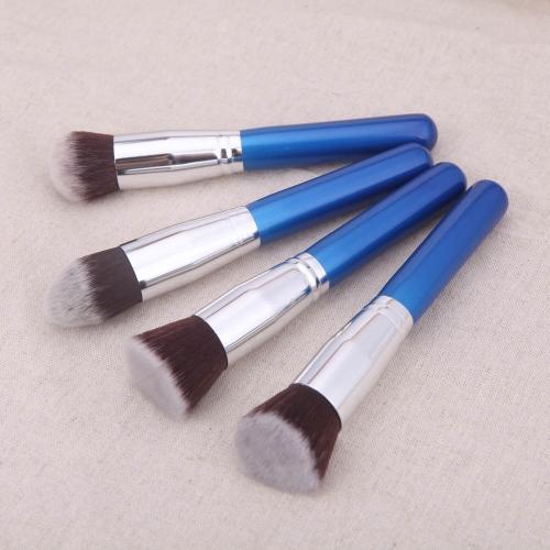 4Pcs Wood Makeup Brush Kit Professional Cosmetic Set Silver Ferrule BlueCosmetic Brushes<br>4Pcs Wood Makeup Brush Kit Professional Cosmetic Set Silver Ferrule Blue<br><br>Blade Length: 25.5cm