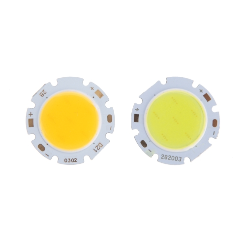 Image of 3W Round COB Super Bright LED Chip Light Lamp Bulb White DC9-12V