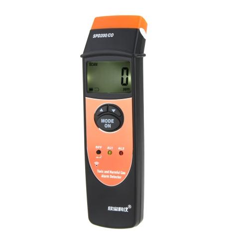SINPO SPD200/CO 1 ~ 1000PPM détecteur de monoxyde de carbone (CO) / détecteur d'alarme gaz toxique et nocif