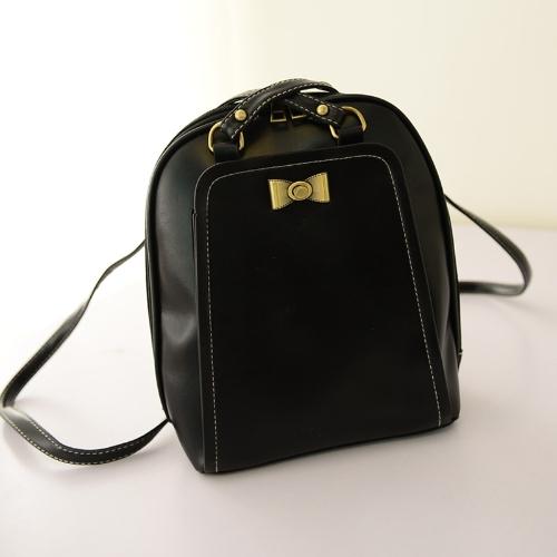 New Cute Women Girl Backpack PU Leather