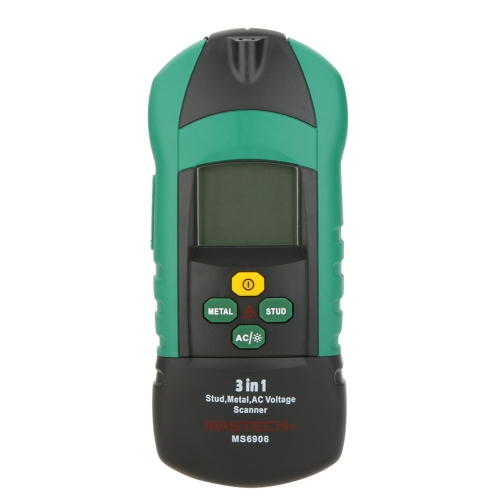 Buy MASTECH MS6906 3 1 Multi-function Stud Metal AC Voltage Scanner Detector Thickness Gauge NCV Test