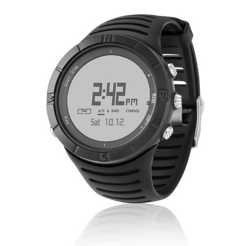 Multifunction Spovan SPV806 Chronograph/Barometer/Altimeter/Thermometer/Compass Outdoor Fashion Sports Men Women Watch H13099W