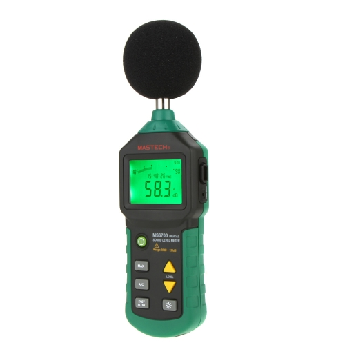 DIY Electronics H13129 MASTECH MS6700 Digital Sound Level Meter dB Meter Measuring 30dB~130dB