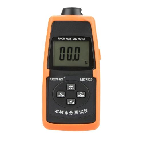 Sanpo MD7820 Mini Testeur d'Humidité Bois Température