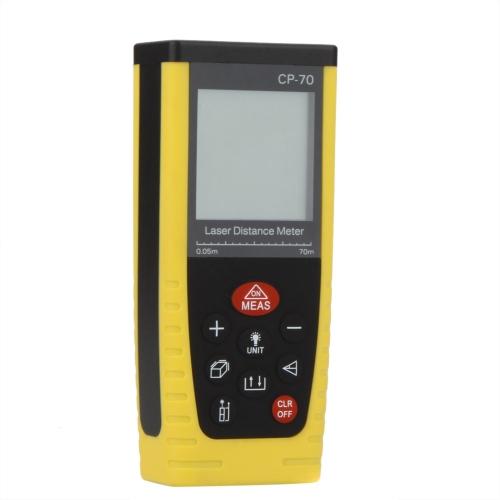 DIY Electronics H13408 CP-70 Portable Professional Laser Distance Meter Rangefinder Measuring 0.05~70m