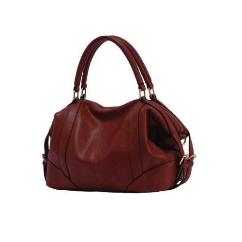Fashion Women Handbag European Style PU Leather Large Capacity Messenger Bag Black/Brown/BurgundyFashion Women Handbag European Style PU Leather Large Capacity Messenger Bag Black/Brown/Burgundy<br><br>Blade Length: 35.0cm