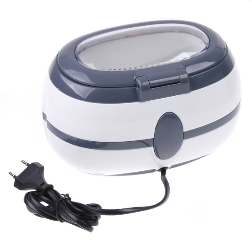 Ultrasonic Cleaner Jewelry Dental Watch Glasses Toothbrushes Cleaning Tool 600ml H8215