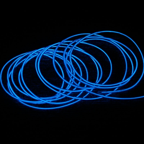 3M Blue Flexible Neon Light EL Wire Rope Tube with ControllerNeon Bulbs &amp; Tubes<br>3M Blue Flexible Neon Light EL Wire Rope Tube with Controller<br><br>Blade Length: 14.0cm