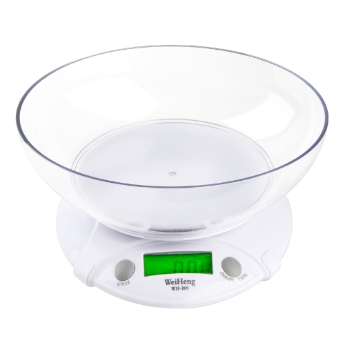Image of 7KG/1G Digital Electronic Kitchen Scales Parcel Food Weight with Bowl