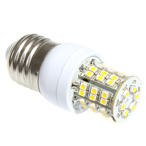 Milho de LED Lâmpada 48 3528 SMD 3W E27 quente branco 220V от tomtop.com INT