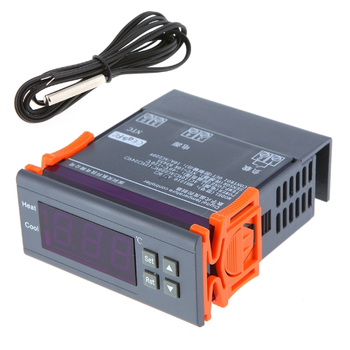 200-240V Digital Temperature Controller Thermocouple -40? to 120? with SensorTemperature &amp; Humidity Instrument<br>200-240V Digital Temperature Controller Thermocouple -40? to 120? with Sensor<br><br>Blade Length: 11.0cm