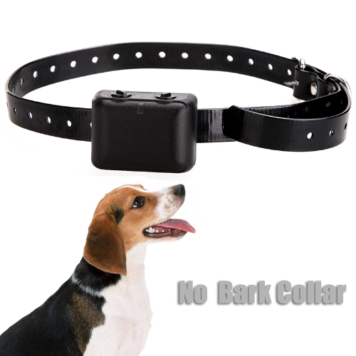 Waterproof Dog Anti Bark No Barking Collar Trainer Shock Vibrate Rechargeable H9377US