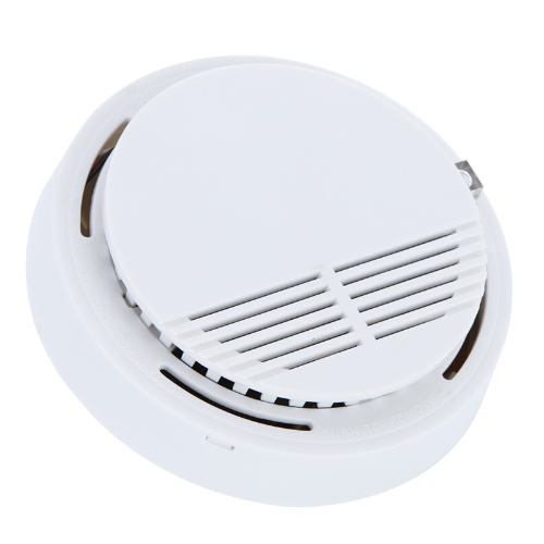 Standalone Photoelectric Smoke Alarm Fire Smoke Detector Sensor Home Security System for Home Kitchen 9V H9487