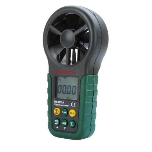 Portable Digital Anemometer Handheld LCD Electronic Wind Speed Air Volume Measuring Meter Backlight
