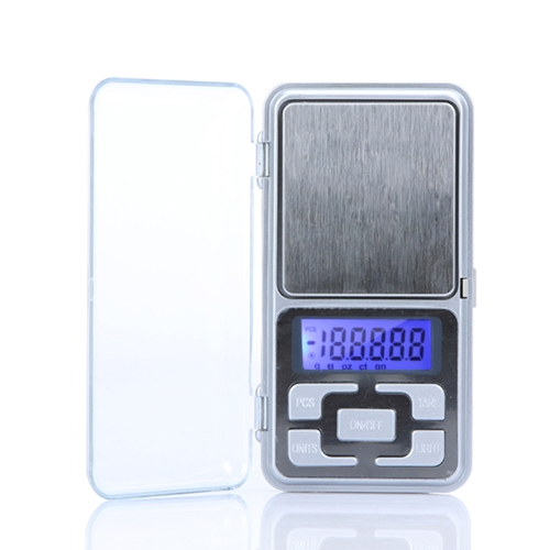 DIY Electronics H9629 High Accuracy Mini Electronic Digital Pocket Scale Jewelry Weighing Balance Portable 200g/0.01g Counting Function Blue LCD g/tl/oz/ct