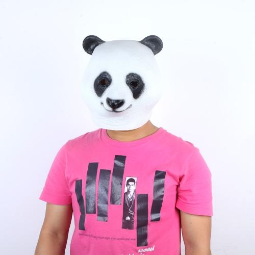 Buy Latex Animal Panda Head Mask Halloween Costume Party Christmas Theater Prop