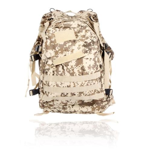 Buy Outdoor Molle Military Tactical Backpack Rucksack Camping Traveling Hiking Trekking Bag 40L Desert Digital