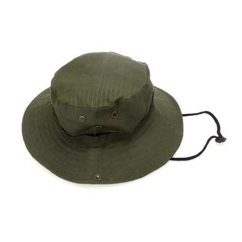 Buy Outdoor Fishing Camping Hiking Sun Cap Round Rim Men Women Hat Army Green