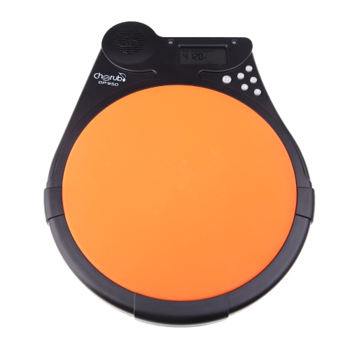 Cherub DP-950 Digital Electric Electronic Drum Pad Metronome Counter for Training Practice  Multifunction от Tomtop.com INT