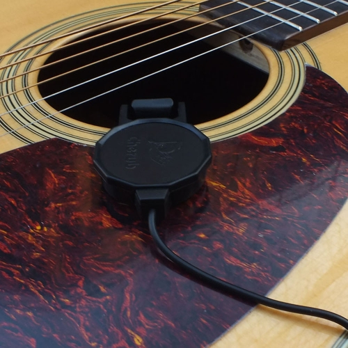 "Cherub WCP-60G Clip-on Pickup Pick-up for Guitar with 1/4"" Jack 2.5M Cable Compact Professional от Tomtop.com INT"