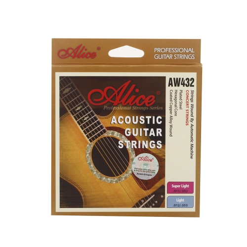 Alice AW432 Guitar Six Strings Coated Steel Set Anti-rust Light for Acoustic GuitarAlice<br>Alice AW432 Guitar Six Strings Coated Steel Set Anti-rust Light for Acoustic Guitar<br><br>Blade Length: 13.5cm