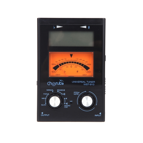 Cherub WST-910 Universal Electric Tuner 11 Tuning Mode for Guitar Violin Chromatic Ukelele от Tomtop.com INT