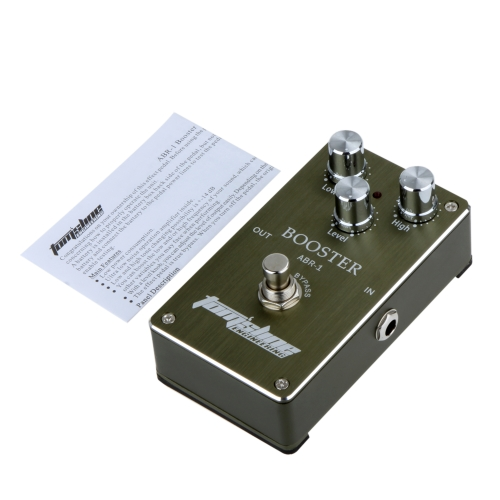 Aroma ABR-1 Booster Guitar Effect Pedal Aluminum Alloy Housing Ture Bypass от tomtop.com INT