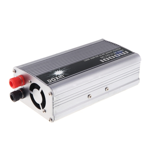 1000W WATT DC 12V to AC 220V Portable Car Power Inverter Charger Converter Transformer от Tomtop.com INT