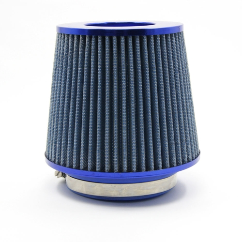 """Universal Auto Car Air Filter Cold Air Intake 3"""" 76-88-100mm Round Tapered"""