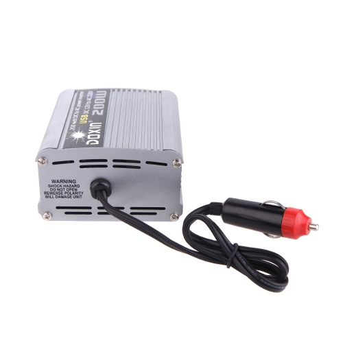 200W Watt DC 12V to AC 220V + USB Portable Voltage Transformer Car Power Inverter от Tomtop.com INT