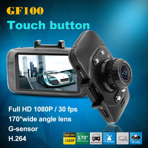 Mini 2.7 LCD Car DVR Camera GF100 Touch Button 1080P 170 Wide Angle 4X Zoom G-sensor Night VisionCar DVR Video<br>Mini 2.7 LCD Car DVR Camera GF100 Touch Button 1080P 170 Wide Angle 4X Zoom G-sensor Night Vision<br><br>Blade Length: 17.5cm