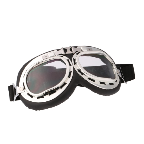 Scooter Goggles Pilot Motorcycle Ski Bike Cycling Goggle Motocross Glasses от Tomtop.com INT