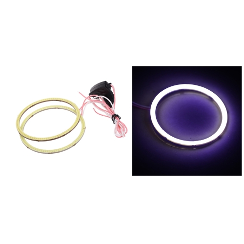 1 Pair of COB Motorcycle Car LED Angel Eyes Headlight Halo Ring 80(MM) от Tomtop.com INT