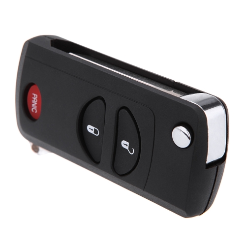 3 Buttons Remote Flip Folding Key Shell Case for Chrysler Dodge Jeep  Key Cover от Tomtop.com INT