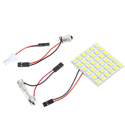 LED Car Light 5050 Warm White + 3 Adapter