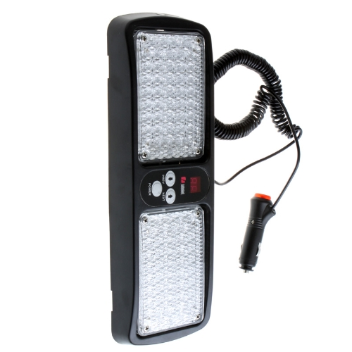 Super Bright LED Car Truck Visor Strobe Flash Light Panel Yellow от Tomtop.com INT