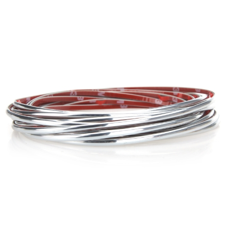 Buy 5M Auto Decoration Sticker Thread Car Interior Exterior Body Modify Decal Silvery