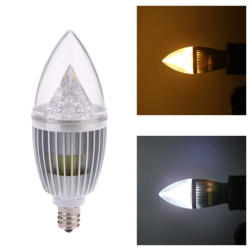 E12 8W LED Candle Light Bulb Chandelier Lamp Spotlight High Power AC85-265VLED Bulbs &amp; Tubes<br>E12 8W LED Candle Light Bulb Chandelier Lamp Spotlight High Power AC85-265V<br><br>Blade Length: 15.0cm