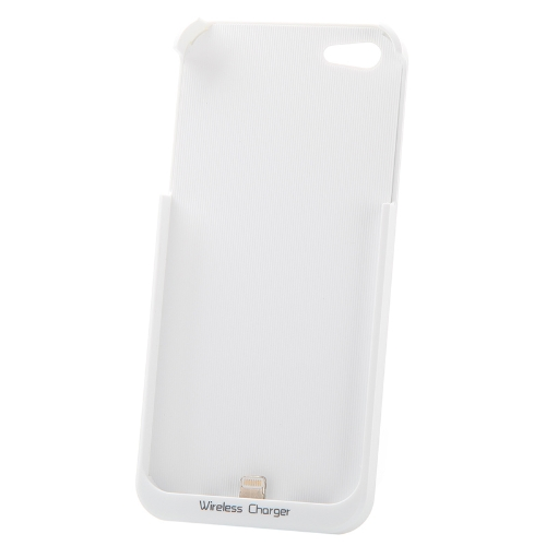 Qi Standard Wireless Charger Receiver Jacket Backup Case for iPhone 5 WhiteZOPO<br>Qi Standard Wireless Charger Receiver Jacket Backup Case for iPhone 5 White<br><br>Blade Length: 16.1cm