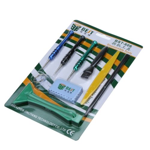 BEST BST-606 9-in-one Screwdriver Disassemble Tool Set for iPhone 4 4s 5c 5s PA1838