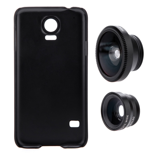 3-in-1 Phone Photo Lens 180° Fisheye 0.67X Wide Angle 10X Macro Set with Case for Samsung Galaxy S5Phone Lens<br>3-in-1 Phone Photo Lens 180° Fisheye 0.67X Wide Angle 10X Macro Set with Case for Samsung Galaxy S5<br><br>Blade Length: 14.5cm