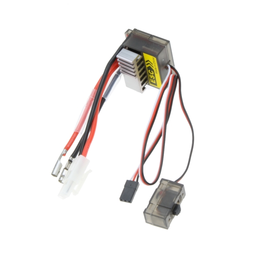 Buy 320A Brushed ESC Speed Controller /w Reverse 1/8 1/10 RC Flat/off-road/Monster Truck/Truck Car/Boat