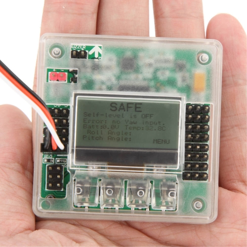 Buy KK2.1 Multirotor LCD Flight Controller Board 6050MPU 644PA update version FPV Quadcopter