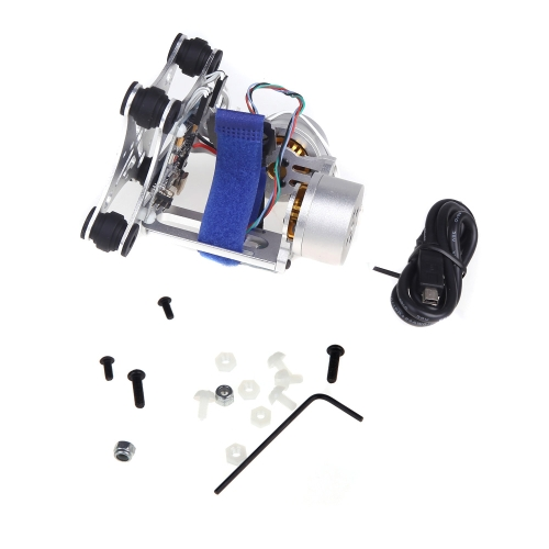 Buy Brushless Gimbal Camera Mount Motor & Controller DJI Phantom 1 2 Gopro 3 FPV Aerial Photography