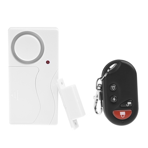Remote Control Home Security Alarm Warning System with Magnetic Sensor for Door Window