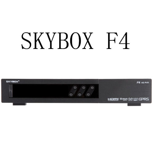 Buy Skybox F4 HD Satellite Receiver GPRS VFD Display Support USB Wifi Weather Forecast