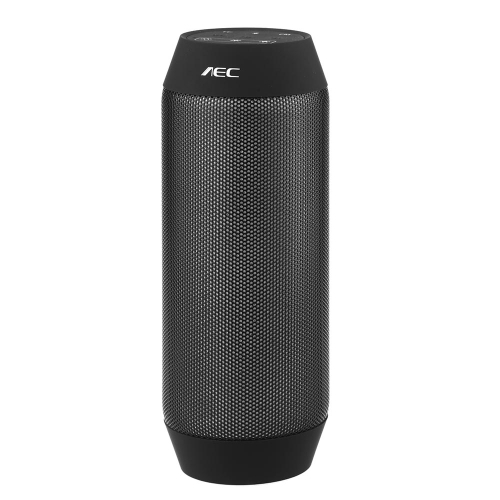 Buy AEC Bluetooth Stereo Speaker Bass Subwoofer MIC Support TF FM Line Handsfree Call iPhone iPad Samsung Smartphone Portable Rechargeable Black