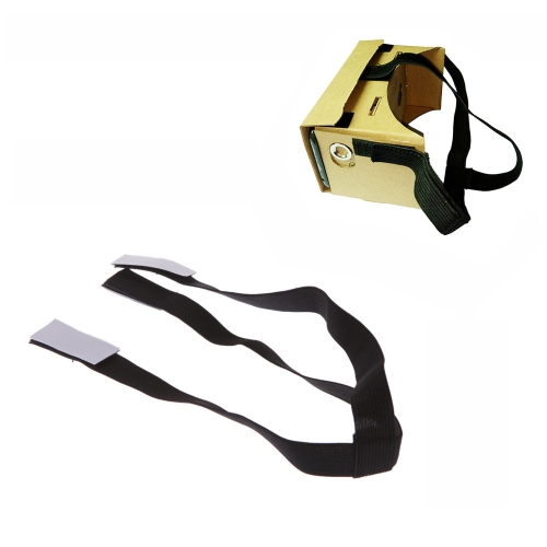 Detachable Elastic Adjustable Head Mount Strap Belt for Google Cardboard Virtual Reality VR 3D Glasses