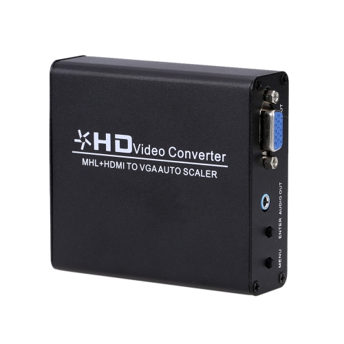 Mhl Hdmi To Vga Converter Auto Scaler Video Connector Adapter Digital Hdmi To Analog Pc Rgb kopen