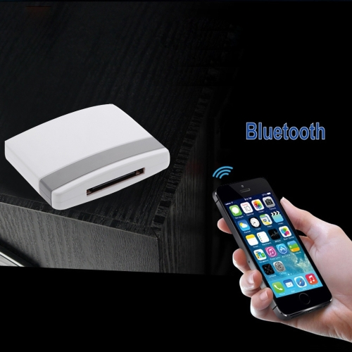 Bluetooth A2DP Music Receiver Audio Adapter for iPad iPod iPhone 30Pin DockWireless Wifi Audio Receiver<br>Bluetooth A2DP Music Receiver Audio Adapter for iPad iPod iPhone 30Pin Dock<br><br>Blade Length: 12.5cm
